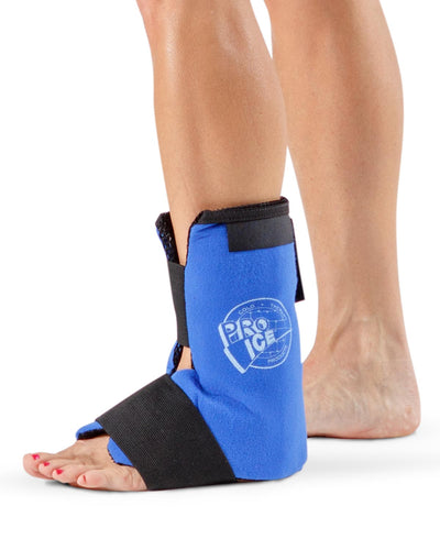 best wearable ankle ice pack with compression wrap