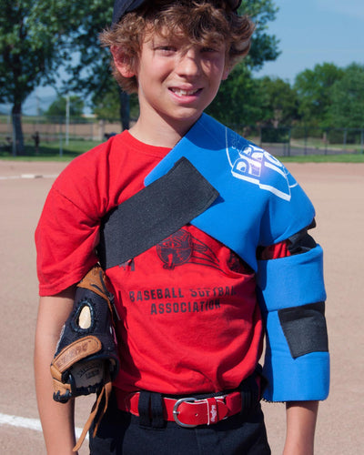 Pro Ice Pitchers Kit Youth Shoulder and Elbow Wrap, PI 820
