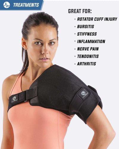 ActiveWrap Shoulder Heat/Ice Compression Therapy Wrap