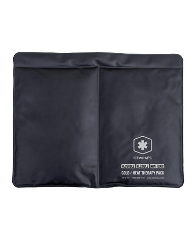 IceWraps Cold / Heat Therapy Pack Reusable Flexible 11x14
