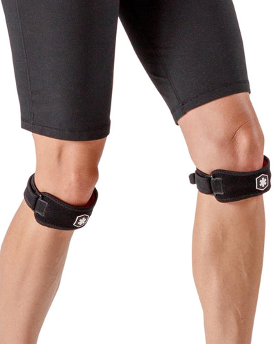 IceWraps Fitness Knee / Patella Support Straps (Pair)