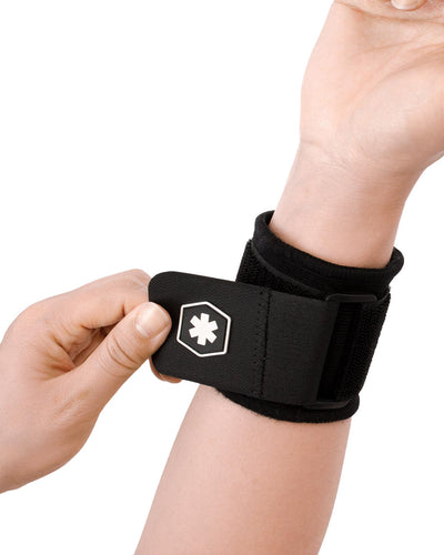 IceWraps Fitness Adjustable Elastic Wrist Support Band