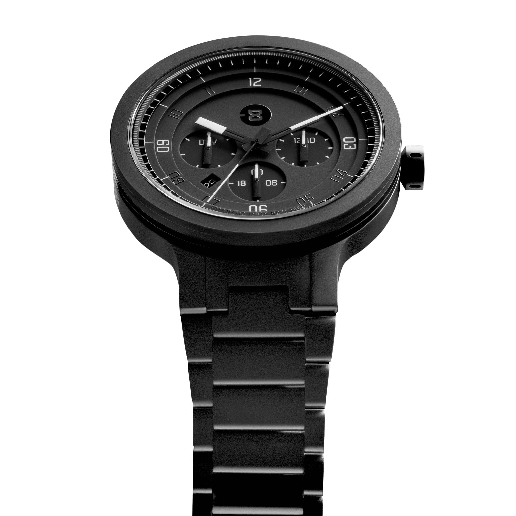 overstock men black shipping movado jewelry free series pvd mens product today s watches watch