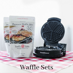 Torill's Table Norwegian Waffle and Pancake Mix and Waffle Maker
