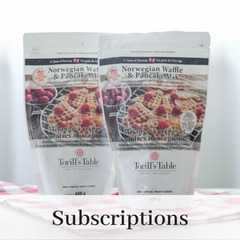 Torill's Table Norwegian Waffle and Pancake Mix Subsricption delivered to your door