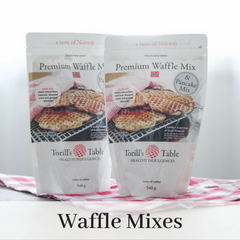 Wholesome, Delicious Norwegian Waffle Pancake Mix