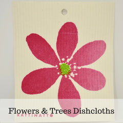 Flowers & Trees Dishcloth