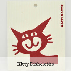 Kitty Dishcloths