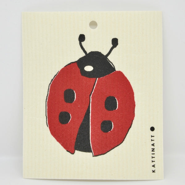 Lady Bug Dishcloth