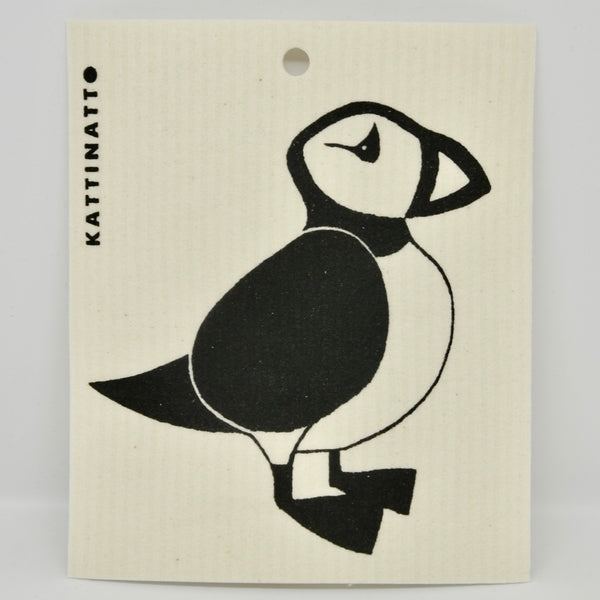 Puffin Dishcloth