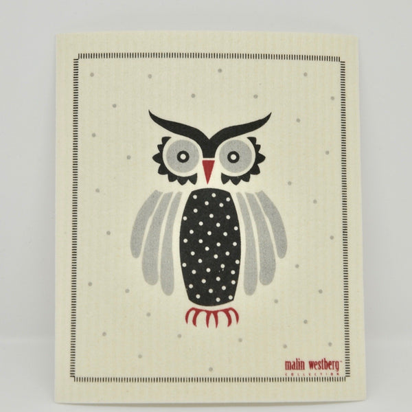 Big Owl Dishcloth