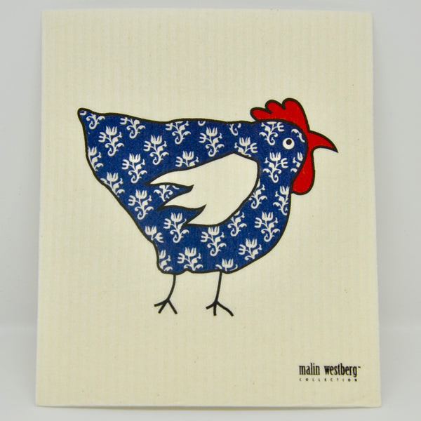 Patterned Hen Dishcloth