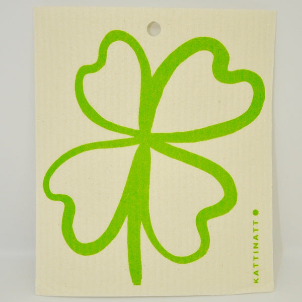 4 Leaf Clover Dishcloth