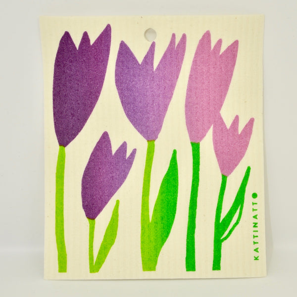 Tulips Dishcloth