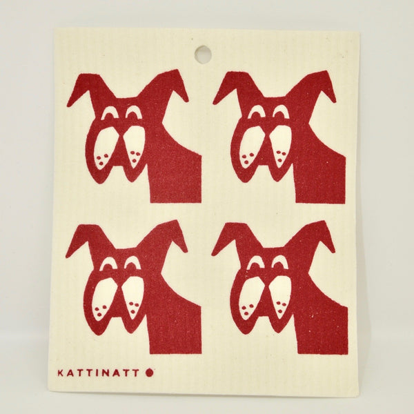 4 Dogs Dishcloth