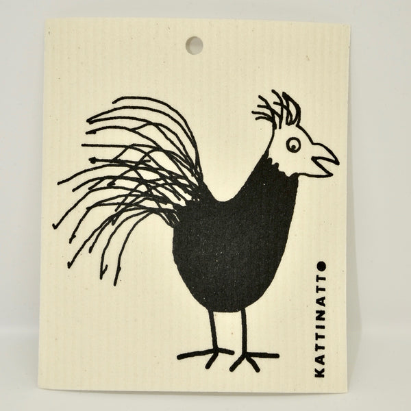 Rooster Dishcloth