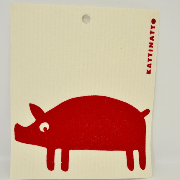 Pig Dishcloth