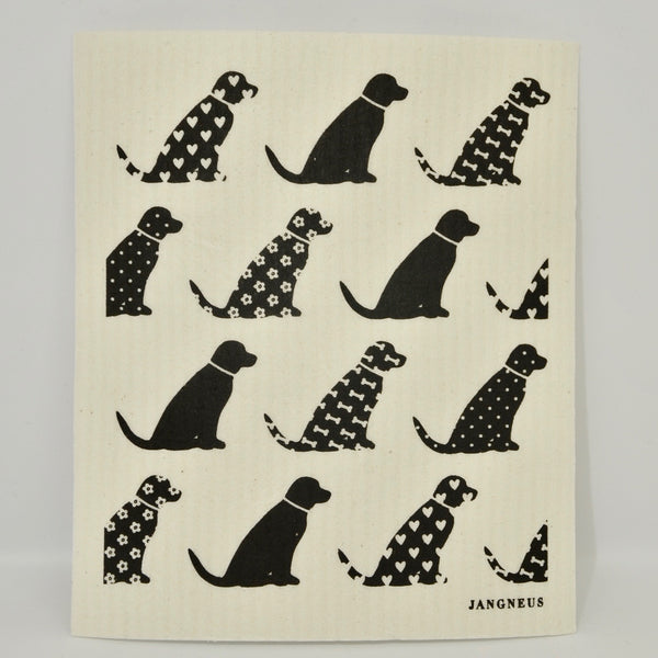 Little Dogs Dishcloth