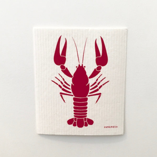 Lobster Dishcloth