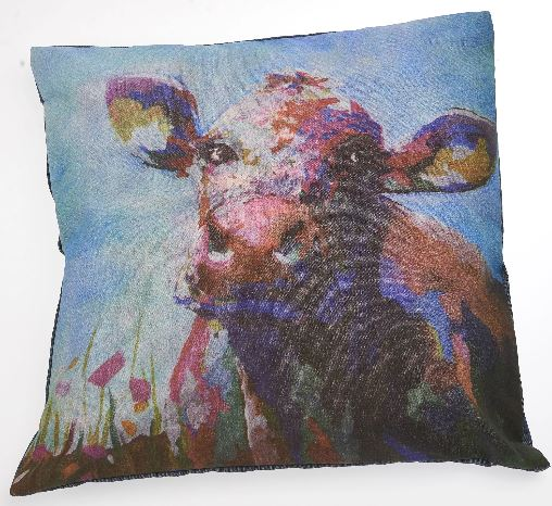 Summer Cow Pillow Case