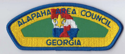 Alapaha Area Council Georgia Blue Border Plastic Backing FDL CSP ## CSP112