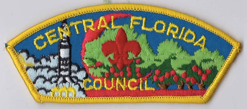 Central Florida Council Florida Yellow Border Plastic Backing FDL CSP ## CSP256