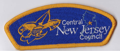 Central New Jersey Council New Jersey Yellow Border Plastic Backing FDL CSP ## CSP269