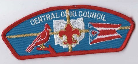 Central Ohio Council Ohio Red Border Plastic Backing FDL CSP ## CSP279