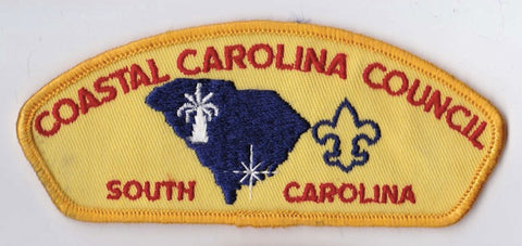 Coastal Carolina Council SC Yellow Border Cloth Backing FDL CSP ## CSP360