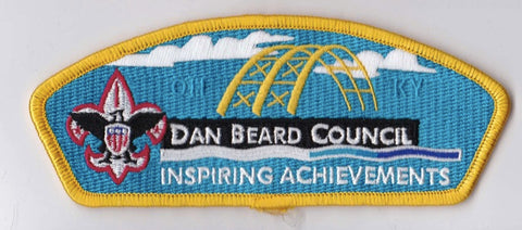 Dan Beard Council OH & KY Yellow Border Scout Stuff Backing FDL CSP ## CSP407
