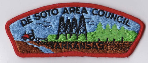 De Soto Area Council AR Red Border Plastic Backing Pre-FDL CSP ## CSP431