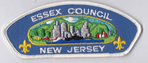 Essex Council NJ White Border Plastic Backing FDL CSP ## CSP460