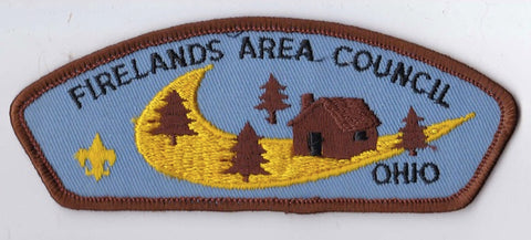 Firelands Area Council OH Brown Border Plastic Backing FDL CSP ## CSP480
