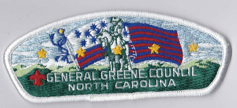 General Greene Council NC White Border Plastic Backing FDL CSP ## CSP517