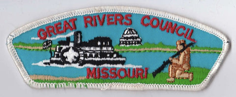 Great Rivers Council MO White Border Plastic Backing FDL CSP ## CSP600