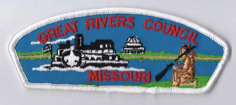 Great Rivers Council MO White Border Plastic Backing FDL CSP ## CSP603