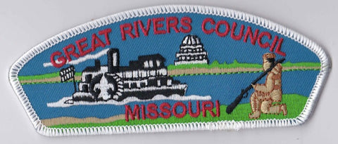 Great Rivers Council MO White Border BSA 2010 Backing FDL CSP ## CSP604