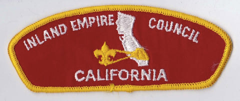 Inland Empire Council CA Yellow Border Cloth Backing FDL CSP ## CSP700
