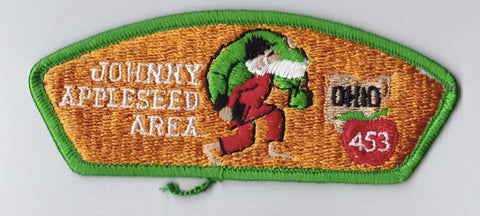 Johnny Appleseed Area Council OH Green Border Plastic Backing BSA CSP ## CSP716
