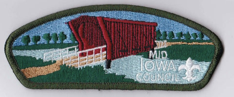 Mid-Iowa Council IA Green Border Plastic Backing FDL CSP ## CSP813