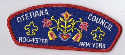 Otetiana Council NY Red Border Scout Stuff Backing FDL CSP ## CSP1004