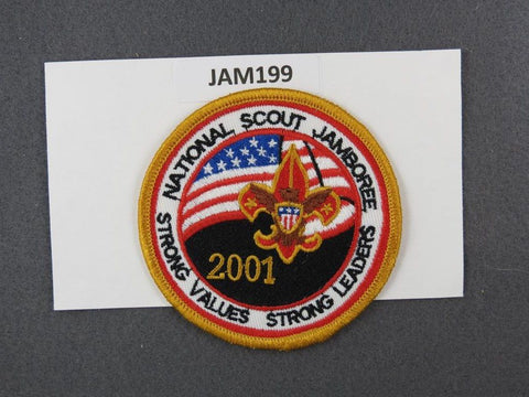 2001 National Scout Jamboree Strong Values Strong Leaders Yellow Border [JAM199]^^