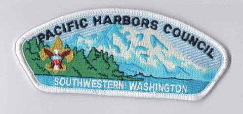 Pacific Harbors Council WA White Border Plastic Backing FDL CSP ## CSP1023