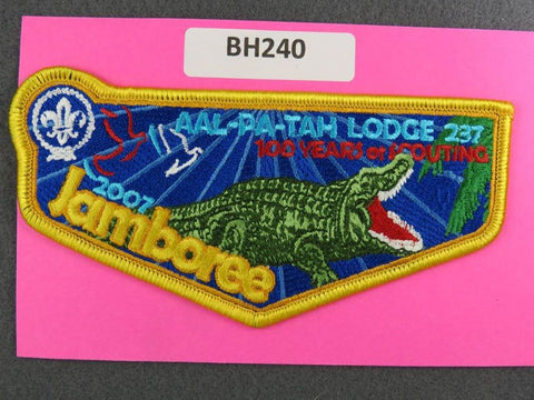 OA Lodge # 237 Aal-Pa-Tah Flap 2007 World Jamboree Gulf Stream  [BH240]**