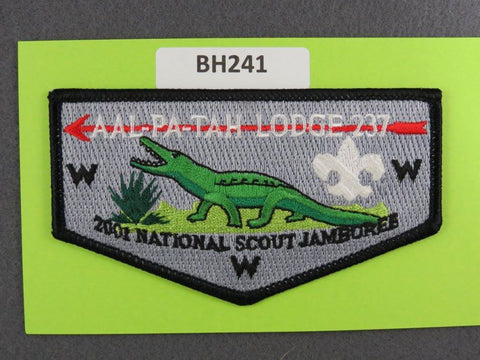 OA Lodge # 237 Aal-Pa-Tah Flap 2001 National Jamboree Gulf Stream  [BH241]**