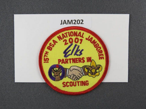 2001 National Scout Jamboree Partners in Scouting Red Border [JAM202]^^