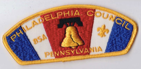Philadelphia Council PA Yellow Border Cloth Backing Pre-FDL CSP ## CSP1046