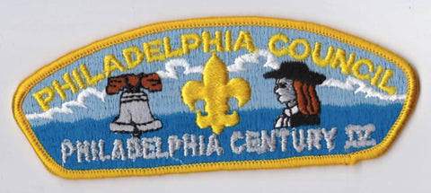 Philadelphia Council PA Yellow Border Plastic Backing FDL CSP ## CSP1049