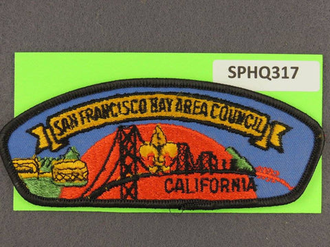 San Francisco Bay Area  California CSP Black Border [SPHQ317]##