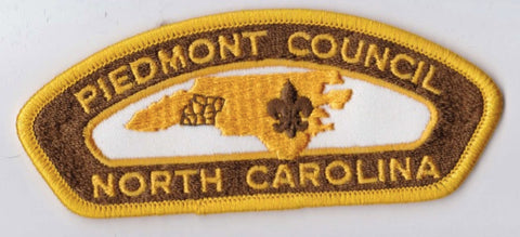 Piedmont Council NC Yellow Border Plastic Backing FDL CSP ## CSP1052